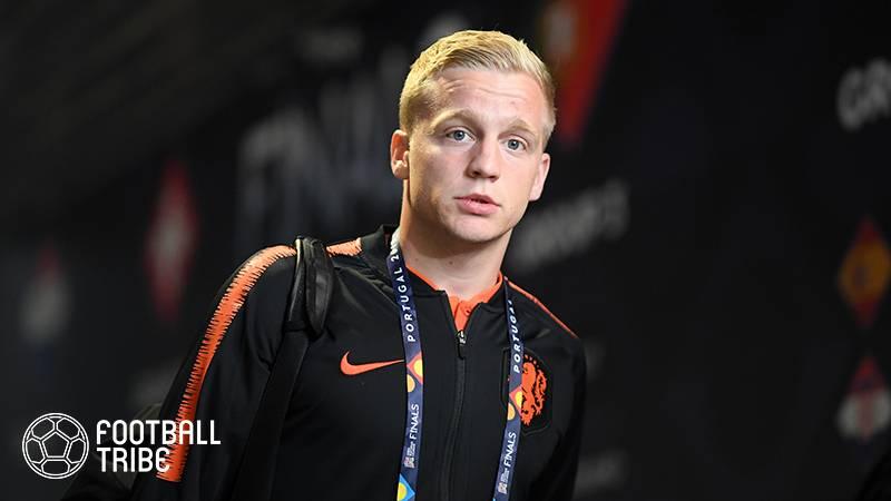 オランダ代表、ファン・デ・ベークのユーロ欠場が確定…負傷で練習不参加