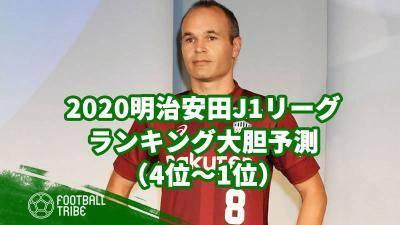 2020明治安田J1リーグのランキング大胆予測(4位〜1位)