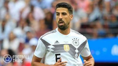 ケディラ、ドイツ女子代表選手と熱愛発覚か!?サッカー独代表カップル誕生か…