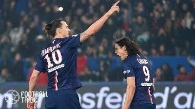 プレミア昇格のリーズ、イブラ&カバーニ獲得を狙う!PSG以来の共演なるか…