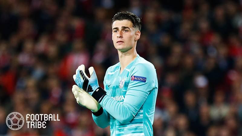 チェルシーGKケパ、EURO出場に向けて1月にレンタル移籍を希望…給与カットを受け入れる