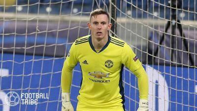 マンUのイングランド代表GK、1月に移籍を希望か…EURO出場のため出場機会を確保へ…