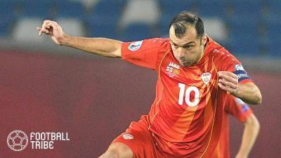 ベテランFWパンデフが決勝点!北マケドニア代表、史上初のEURO本戦出場が決定!