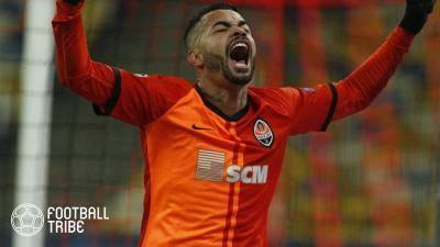 CLレアル戦で得点のシャフタールMFデンチーニョ、Jリーグに移籍?