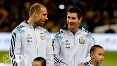メッシの去就についてアルゼンチン代表の元同僚「もしバルセロナを離れるならば…」
