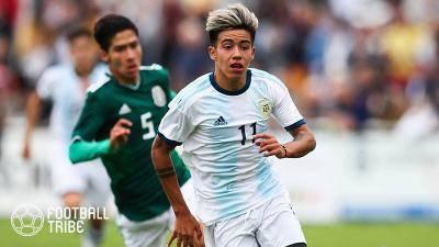"""マンC、""""ミニメッシ""""こと17歳のアルゼンチン人FWサルミエント獲得に迫る…"""