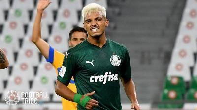 アトレティコ、パルメイラスの20歳ブラジル代表MF獲得に興味か…