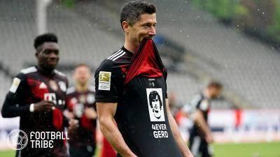 PSG、ムバッペ退団なら今季リーグ戦40ゴール到達のレバンドフスキ獲得に動く?