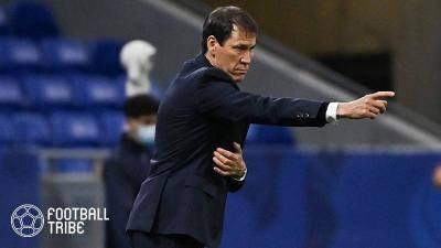 CL出場権を逃したリヨン、ガルシア監督の退任を発表「最高の結果を残せなかった」