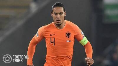 長期離脱中のオランダ代表DFファン・ダイク、「ユーロを欠場する」と明言