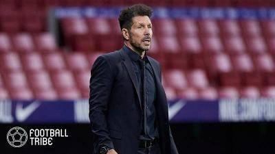 7季ぶりリーグ制覇に導いたアトレティコのシメオネ監督「最高の1年」