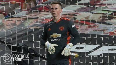 イングランド代表GK、マンUでの将来に疑問視か。来季も控えなら今夏退団へ