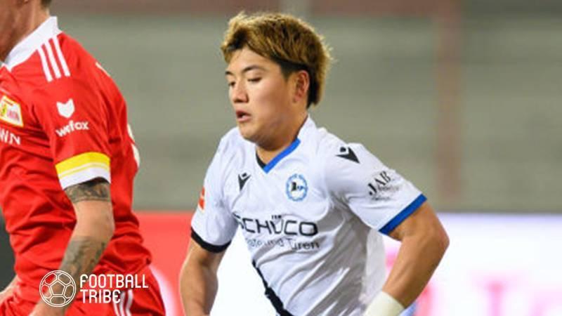 ビーレフェルト退団決定の日本代表MF堂安律、独クラブがレンタルでの獲得に興味か