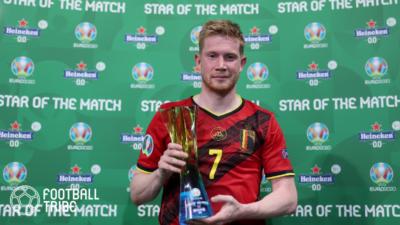 ポルトガル戦で負傷のベルギー代表2選手、ユーロ準々決勝イタリア戦での出場可否は…
