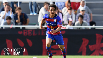 FC東京、来季加入内定の明治大DF岡庭愁人が特別指定選手認定!