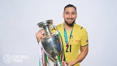 PSG、ユーロMVPに輝いたドンナルンマ獲得を正式発表!2026年夏までの5年契約