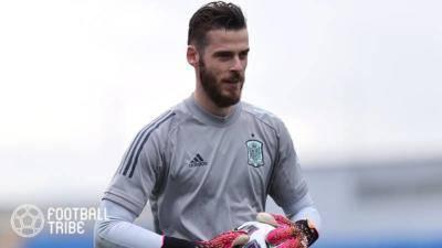 マンU退団噂のスペイン代表GK、残留を希望か。ヘンダーソンと守護神争いへ