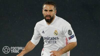 レアル、主力右サイドバックのスペイン代表DFと2025年夏まで契約延長!