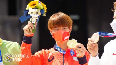 「フォロワー増えててワロタ」スケボー堀米雄斗金メダル獲得の影響はサッカー界にも