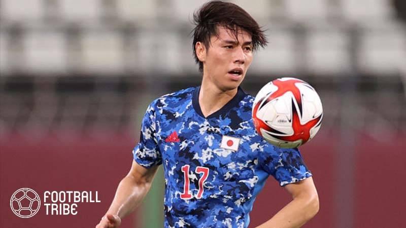 田中碧が豪州戦ゴールで果たした約束とは…守田英正海外移籍時の投稿が話題に!