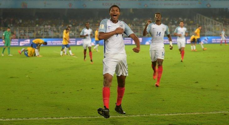 U-17 브라질, 잉글랜드에 충격 패배