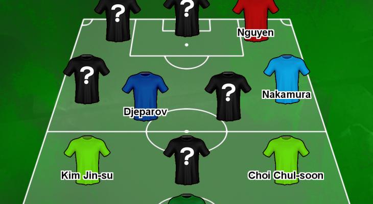 [카드 뉴스] 풋볼 트라이브 선정, 11월의 아시아 베스트 XI