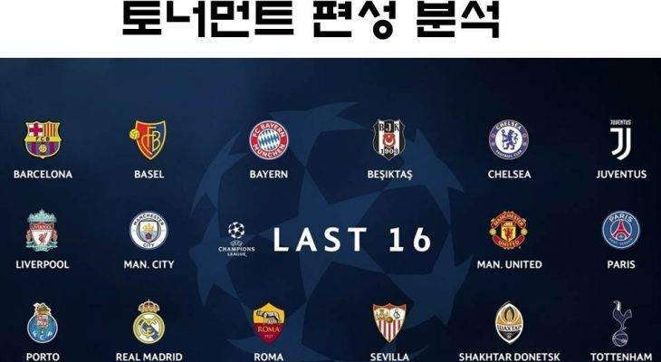 [카드 뉴스] 챔스 토너먼트 편성 분석