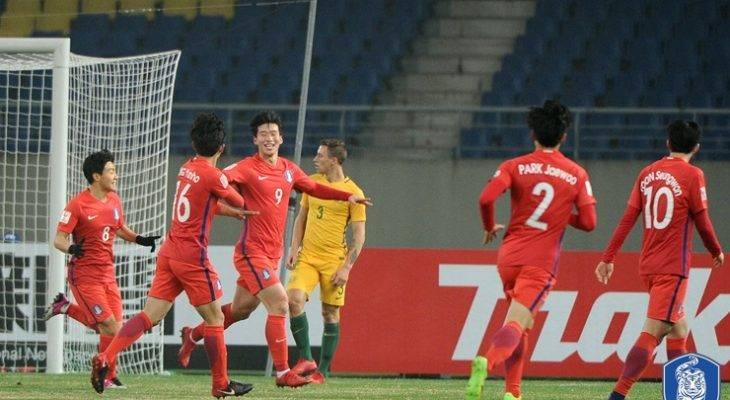 한국, 이근호 멀티골 앞세워 호주에 3:2 승리