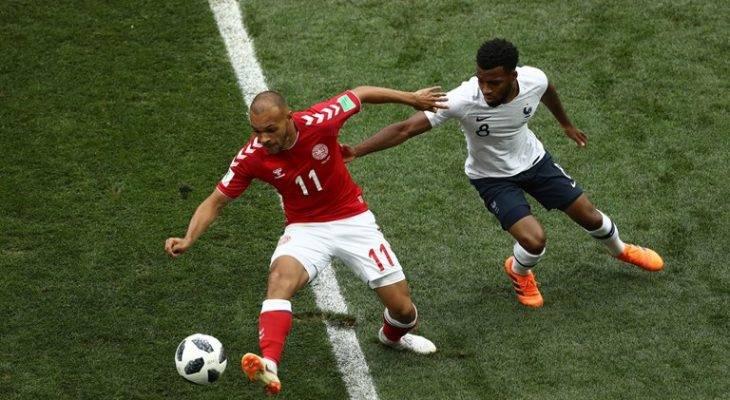 관중들 야유한 프랑스 vs 덴마크, 이번 대회 최초의 기록 세우다