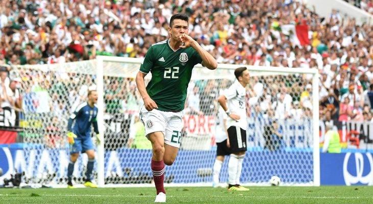 월드컵 데뷔전에 득점한 로사노, 새로운 스타의 탄생을 알리다