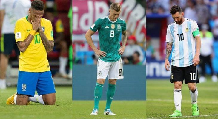 '전통 강호의 몰락' 2018 월드컵, 축구계 지각 변동의 서막일까