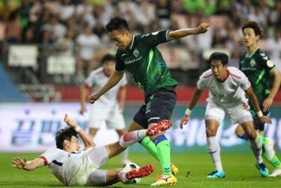 월드컵 이후 날카로워진 김신욱, 전북의 승리 이끌어