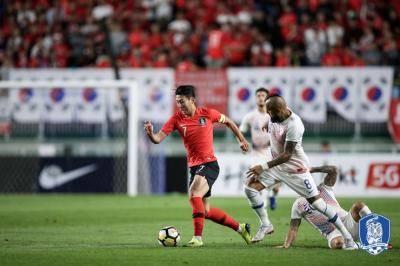 대한민국, 칠레와 0:0 무승부…칠레는 코스타리카와 달랐다