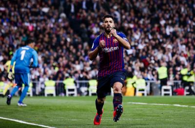 '멀티 골' 수아레스, 엘 클라시코 통산 득점 9위…벤제마는 슈팅 1개 기록