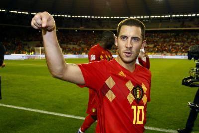 아자르, 센추리 클럽 가입한 역대 세 번째 벨기에 선수 되다