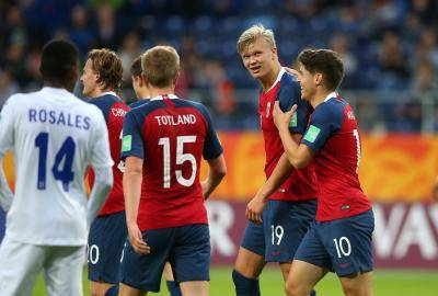 [U20 월드컵] 로이 킨과 악연이 있는 홀란드의 아들, 한 경기서 9골 넣다