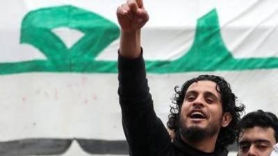 시리아 축구 선수, 정부군과 교전 중 사망