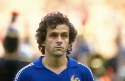 일그러진 프랑스 축구 영웅이 된 플라티니