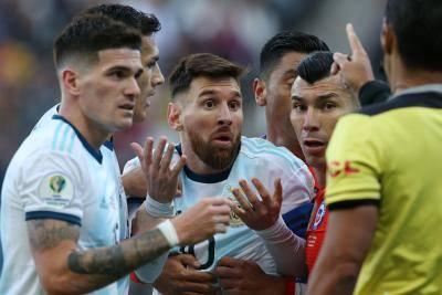 [코파 아메리카] 아르헨티나, 메시 퇴장에도 3위 확정
