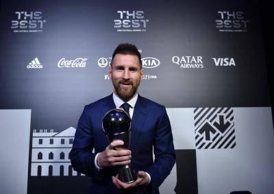 메시, 호날두 ‧ 반 다이크 제치고 FIFA 최우수 선수상 수상
