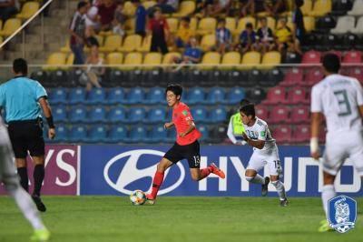 "[U-17 월드컵] ""졌지만 잘 싸웠다"" 대표팀, 8강에서 멕시코에 패배"
