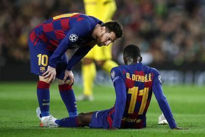 2,000억 원의 사나이 뎀벨레, 월드컵 3년 앞두고 카타르 땅 미리 밟는다…햄스트링 치료 카타르에서