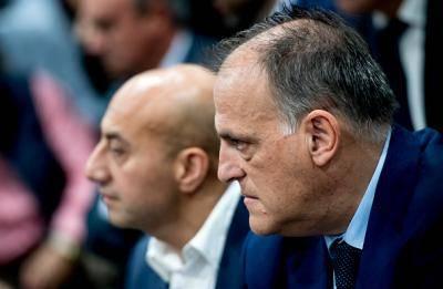 스페인 축구협회, 라리가 회장 테바스의 즉각적인 사임 요구