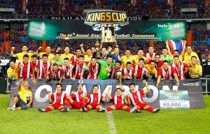 Thailand Tewaskan Jordan 2-0 Dalam Perlawanan Akhir Piala Raja Thai Ke 44