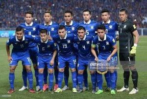 Thailand Umum Skuad 23 Pemain Pusingan Akhir Kelayakan Piala Dunia 2018 Zon Asia