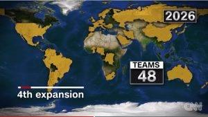 FIFA Mengubah Format Piala Dunia Kepada 48 Pasukan Mulai Edisi 2026