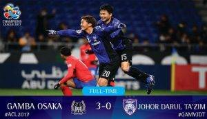 """""""Bedah Siasat"""" Gamba Osaka Bertemu JDT – 3 Gol Dilepaskan, Salah Siapa?"""