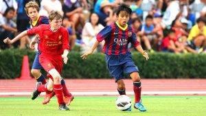 VIDEO: Bekas Pemain Akademi Barcelona Penjaring Gol Termuda J League