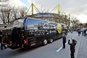 Perlawanan Ditunda Akibat 3 Letupan Berhampiran Bas Borrusia Dortmund