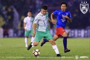 Liga Super 2017: Melaka United 1-1 Johor DT